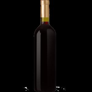 Rotwein flasche